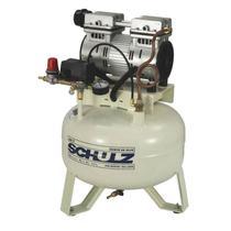 Compressor de Ar Odontológico 1,0 HP 30 Litros Isento de Óleo CSD SCHULZ -
