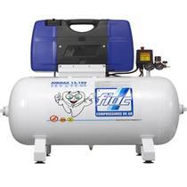 Compressor de Ar Odontológico 2,0 CV 100 Litros 12 PCM AirMax 12.100 Bivolt FIAC -