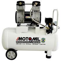 Compressor de Ar Odontológico 2,0HP 50 Litros Isento de Óleo CMO-8/50BR MOTOMIL -
