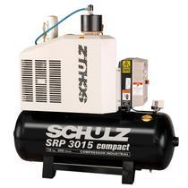 Compressor de ar Parafuso 15HP SRP3015E II Compact 9 bar - Schulz 220V -
