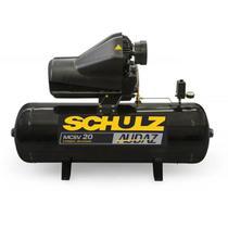 Compressor De Ar Pistão Audaz Trif - 220/380V MCSV20 AP/200L/Simples - Schulz -