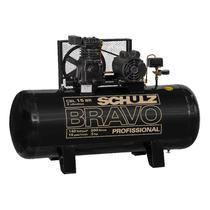 Compressor de Ar Pistão Bravo 3HP 220/380V CSL 15BR/200 SCHULZ -