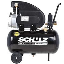 Compressor De Ar Pratic Air 8,5 Pés 25 Litros Schulz -