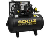 Compressor de Ar Schulz 2HP 100L 10 Pés - Bravo CSL 10BR/100
