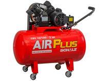 Compressor de Ar Schulz 2HP 100L Air Plus - CSV 10/100 1900 RPM