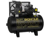 Compressor de Ar Schulz 3HP 100L 15 Pés - Bravo CSL 15BR/100