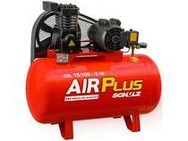 Compressor de Ar Schulz 3HP 100L Air Plus - CSL 15/100 1200 RPM