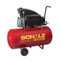 Compressor De Ar Schulz 915.0405-0 CSI 8.5/50 2Cv Preto/Vermelho 127V -
