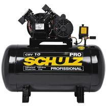 Compressor de Ar Schulz CSV 10 pés 100 Litros PRO - 220 Volts -