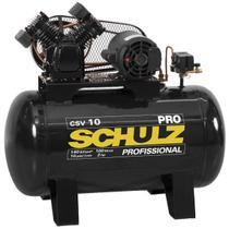 Compressor de ar schulz pro csv 10 pés 100 litros 2 cv trifásico 220/380v -
