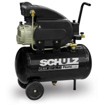 Compressor de Pistão Pratic Air CSI 8,5/25 2CV Schulz 220v -