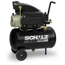 Compressor Motocompressor de Ar 2,0 HP 25 Litros CSI 8,5/25 Pratic Air SCHULZ -