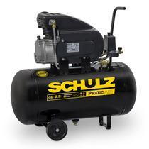 Compressor Motocompressor de Ar 2,0 HP 8,5 Pés 50 Litros CSI 8,5/50 Pratic Air SCHULZ -