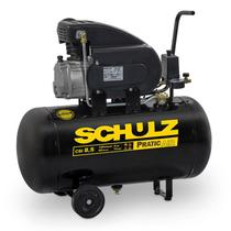 Compressor Motocompressor de Ar 2,0 HP 8,5 Pés 50 Litros CSI 8,5/50 Pratic Air SCHULZ -