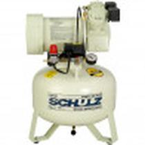 Compressor  MSV 630 Litros 120 Libras 1cv 127V Monofásico Com Gabinete Acústico Schulz -