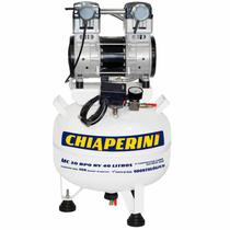 Compressor Odontológico 10 Pés 40 Litros sem Óleo BPO RV CHIAPERINI -