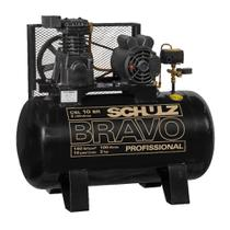 Compressor Schulz BRAVO CSL 10 BR/100 L Trifásico - SCHULZ -