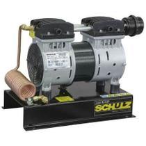 Compressor Schulz Csd 5 Ar Direto 120lbs 1cv Sem Óleo Base -