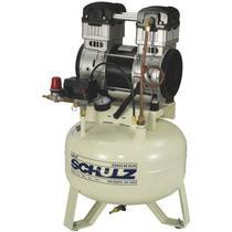 Compressor Schulz Csd 9 30 Lts 120 Lbs 1.5 Cv 110v Isento De Óleo -