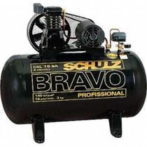Compressor Schulz Csl 15 Br 100 Litros 3 Cv Monof. -