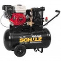 Compressor Schulz CSL 15 Pro-gas 80 Litros 140 Libras 5.5 cv Motor a Gasolina -