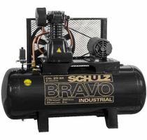 Compressor Schulz Csl 20 Bravo 200 Lts 175 Lbs 5 Cv Trif. -