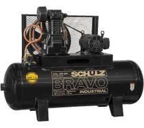 Compressor Schulz Csl 40 Bravo 250 Lts 175 Lbs 10 Cv Trif. I -