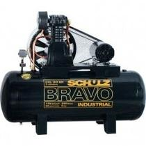 Compressor Schulz Csl20br 200lts 175psi 5cv 220/440v Monof. -