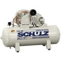 Compressor Schulz Csv 20 250 Litros 120 Libras 5 Cv 220v Trifásico Isento de Óleo -