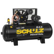 COMPRESSOR SCHULZ MAX MSV 20/250 380V/660V TRIFáSICO -