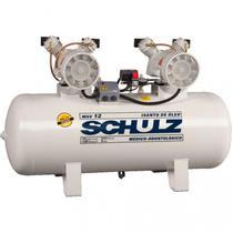 Compressor Schulz MSV 12 200 Litros 120 Libras 2 cv 220v Monofásico Isento de Óleo -