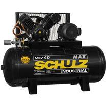 Compressor Schulz MSV 40 Max 350 Lts 175 Lbs 10 cv Trif. Contínuo -