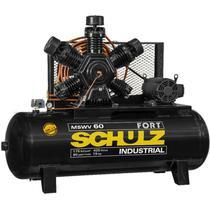 Compressor Schulz MSWV 60 Fort 425 Lts 175 Lbs 15 cv Trif. IP21 -
