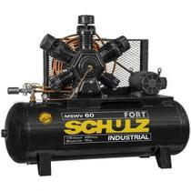 Compressor Schulz Mswv 60 Fort 425lts 175lbs 15cv Trif. Ip55 -