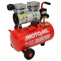Compressor Silencioso 5,0/24L 5PCM 120PSI 220VT MOTOMIL-CMS -