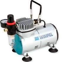 Compressor Wimpel Comp1 compacto e silencioso para aerografia - BIVOLT - Comp1 -