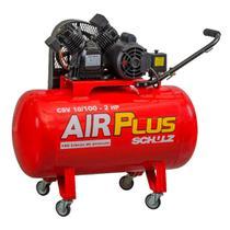 Compressores Ar Air Plus CSV 10/100 60HZ 2 cv 127 V Schulz -