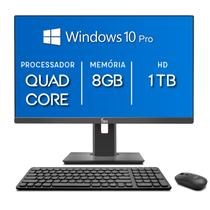 Computador All in One 3green Unique Intel Quad Core 8GB HD 1TB 21.5