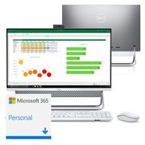 "Computador All in One Dell Inspiron 5490-MS10SF 10ª Intel Core i5 12GB 256GB SSD 23.8"" Touch Windows 10 Microsoft 365 -"