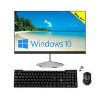 """Computador All in One Hometech HTA21Q2-CW Intel Celeron JW3865U 8Gb SSD 120Gb 21"""" Windows 10 - G-Fire"""