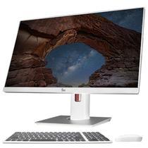 """Computador All in One Intel 8ª Geração Core i5 4.0Ghz 8GB 1TB Tela Full HD 24"""" Ajuste rotação e altura Desktop AIO 3Green Speed - All in one 3green 24"""""""