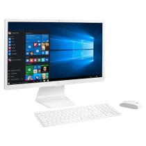 "Computador All In One LG Intel Core LED i5 4GB 1TB 24"" IPS Windows 10 Controle Remoto Branco 22V570 -"