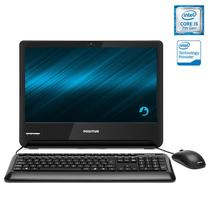 Computador All In One Positivo 1701310 Master A2100 Core I5-7200U 8GB 500GB 18,5 FreeDos Preto
