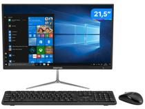 Computador All in One Positivo Union C4128A-21 - Intel Celeron Dual-Core 4GB 128GB SSD LED 21,5""