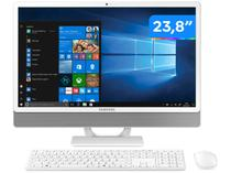 "Computador All in One Samsung E3 DP530ABE-KA2BR - Intel Core i3 4GB 1TB LED 23,8"" Windows 10"