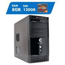 Computador AMD Ryzen 3 3200G 8GB SSD 120GB Certo PC Dinamic III 1013 -