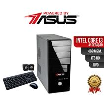 Computador  ASUS  I3 4ger 4gb 1Tb DVD Win  Kit