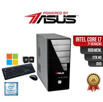 Computador ASUS I7 7Ger 8gb 2Tb DVD Win Kit