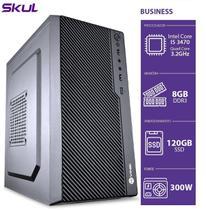 Computador business b500 - i5 3470 3.2ghz mem 8gb ddr3 ssd 120gb hdmi/vga fonte 300w - SKUL