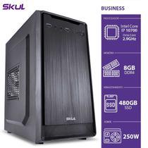 Computador Business B700 - I7 10700 2.9ghz Mem 8gb Ddr4 Ssd 480gb Hdmi/vga Fonte 250w - SKUL